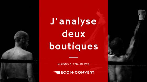 analyse de boutique en ligne