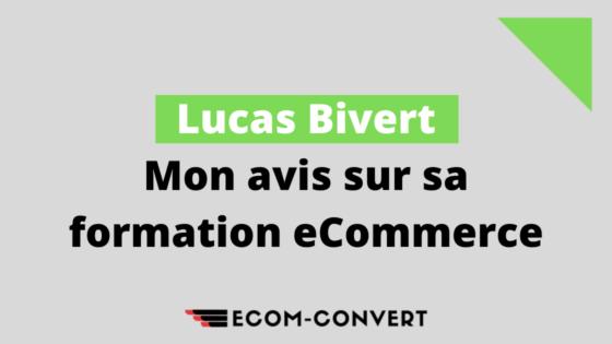 Faut-il se former avec Ecom Empire 3.0 ? Mon avis sur Lucas Bivert !